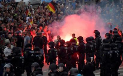 Manifestações de extrema-direita causam 20 feridos na Alemanha