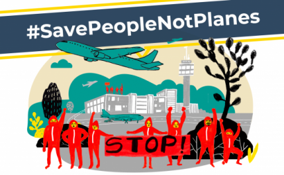 #SavePeopleNotPlanes