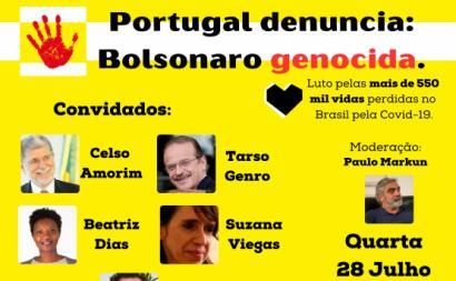 Portugal denuncia:  Bolsonaro Genocida