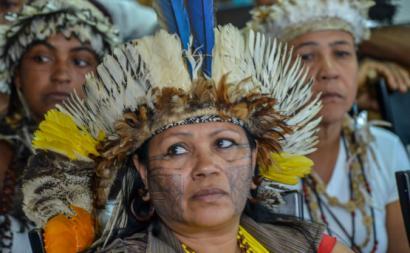 Índios Tupinambá de Olivença. Foto Funai.