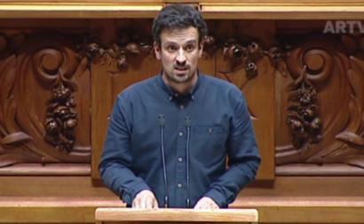 Ricardo Vicente, Assembleia da República, 1 de junho de 2021