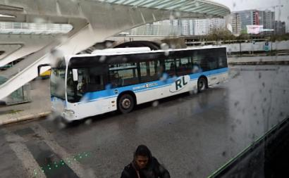 autocarro, Rodoviária de Lisboa, gare do Oriente
