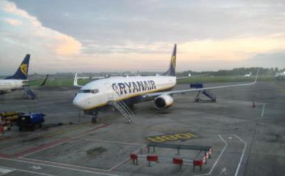 Tripulantes e pilotos preparam nova greve europeia na Ryanair para setembro - Foto de s. bennett/Flickr