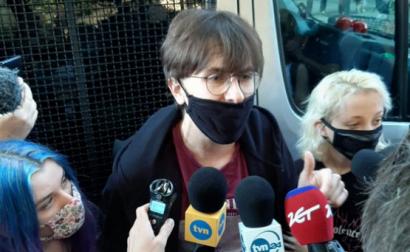 Margot, ativista dos direitos LGBT na Polónia. Foto Twitter.