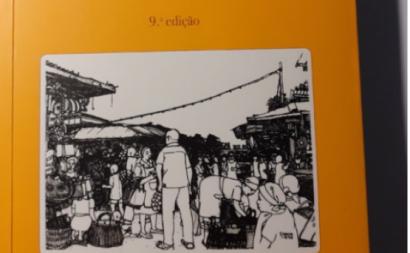 Pormenor da capa do livro Memórias Coloniais. Foto de Almerinda Bento.