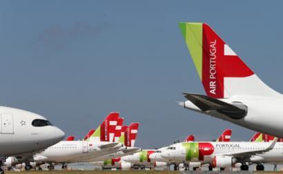 """TAP é """"a única companhia que mantém a maioria dos seus tripulantes em regime de lay-off"""", diz o SNPVAC – Foto de Manuel de Almeida/Lusa"""