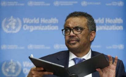 Tedros Adhanom Ghebreyesus, diretor-geral da Organização Mundial de Saúde – foto de Salvatore di Nolfi/Epa/Lusa