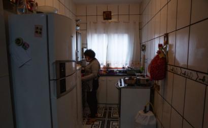 Jacira Oliveira, empregada doméstica. Foto de José Cícero da Silva/Agência Pública.