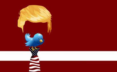Trump e Twitter