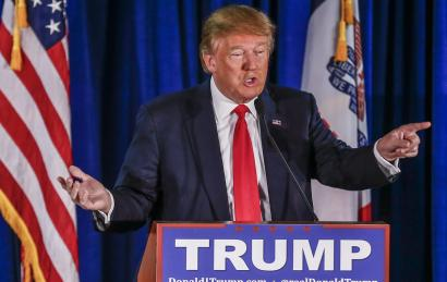 Donald Trump por Tannen Maury. EPA/Lusa.
