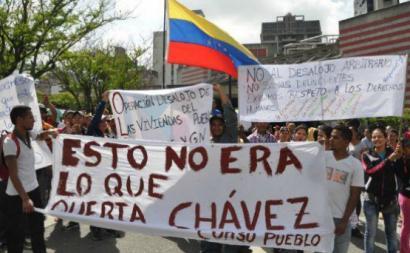 """A Maré Socialista não renega a sua pertença ao Processo Bolivariano, tal como não o faz um grupo de ex-ministros de Chávez, ou o heterogéneo movimento denominado pelos média como """"chavismo crítico"""""""