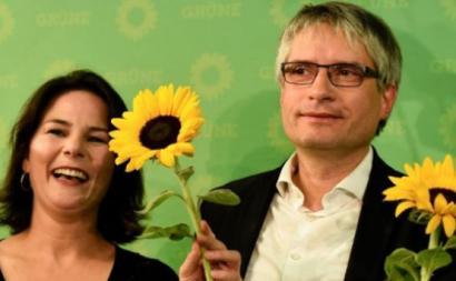 Na Alemanha, os Verdes tiveram a maior subida passando de 13 para 25 mandatos
