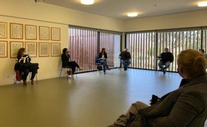 Catarina Martins em Torres Vedras reuniu com profissionais dos setores essenciais
