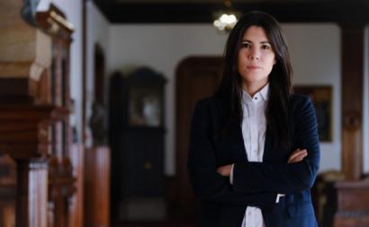 Mariana Mortágua. Foto de Ana Mendes.