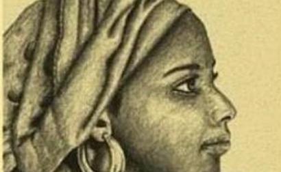 Uma das imagens de Zacimba Gaba princesa angolana que comandou durante muitos anos ataques a navios para resgatar pessoas negras escravizadas.