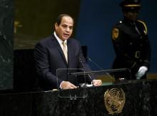 A repressão do regime liderado por al-Sisi tem sido uma constante desde que tomou conta do poder. Foto de Justin Lane-EPA/Lusa