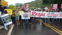 Cerca de 40 milhões fizeram greve. Foto Mídia Ninja