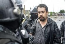 Guilherme Boulos no momento em que era preso pela polícia. Foto Jorge Ferreira/Mídia Ninja