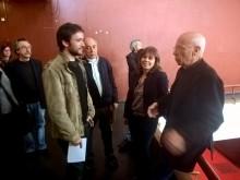José Soeiro, João Semedo, Catarina Martins e Alexandre Alves Costa na apresentação do Desobedoc 2017