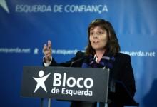 Catarina Martins no lançamento da candidatura bloquista à Câmara de Gaia - Foto de Estela Silva/Lusa