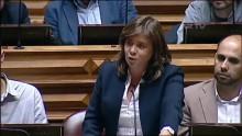 """Catarina Martins no debate com o primeiro-ministro sublinhou que o país mudou com o """"acordo para parar o empobrecimento"""""""