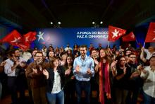 """""""As autarquias são tudo menos transparentes, a democracia tem de ter contas certas"""", criticou Catarina Martins"""