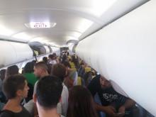 """Os passageiros expulsos alegam que a Vueling os colocou numa """"lista geral de perigo"""". Foto de @annapalou"""