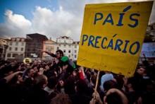 Manifestação Geração à Rasca, 12 de Março de 2012. Foto precarios.net.