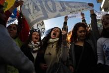 A precariedade e a falta de pessoal não docente estão na base dos protestos. Foto Precários Inflexíveis