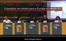 José Manuel Pureza foi um dos oradores da conferência internacional sobre o direito a morrer com dignidade e a eutanásia, realizada no Parlamento Europeu em 8 de novembro