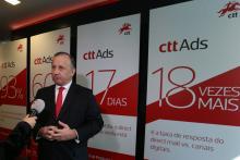 Francisco Lacerda, presidente dos CTT. Desde a privatização em 2013, foram despedidos 115 trabalhadores e os lucros da empresa caíram. Foto de Manuel Almeida, Lusa.