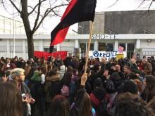 Manifestação na António Arroio
