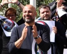 García Molina é o secretário regional do Podemos de Castela-Mancha. Foto do Facebook de García Molina.