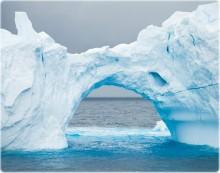 A redução do gelo no oceano Ártico pode ser atribuída às alterações climáticas, dizem os investigadores. Foto Mapas do Ártico