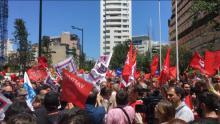 Trabalhadores e trabalhadoras param em luta pela integração nos quadros da PT-Meo e pela valorização dos salários