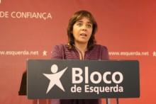 Catarina Martins discursa na abertura da 6ª Conferência Nacional de Jovens do Bloco