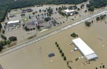 """""""Viver com mais 2ºC significa seca e desertificação, significa cheia e afundamento"""" - Inundações Luisiana, EUA"""
