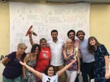 Sardinhas Solidária na Rua dos Lagares.