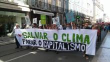 Marcha Mundial do Clima em Lisboa- Foto esquerda.net