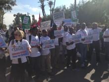 Marcha pela Justiça Climática em Marraquexe, 13 de novembro de 2016