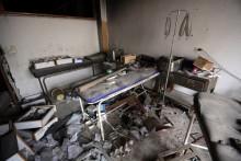 A destruição dos hospitais agrava o sofrimento das populações. Foto da ONU