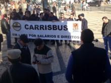 Trabalhadores da CarrisBus marcaram para 5 de junho plenário em frente ao edifício da Câmara de Lisboa entre as 10h e as 13.30h e greve das 13.30 h às 17.30h