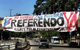 Na Venezuela, começou campanha pelo referendo consultivo