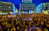 Protesto contra a violência de género. Setembro de 2019. Madrid.