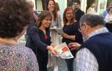 Catarina Martins esteve na apresentação da candidatura bloquista a Santarém - Foto esquerda.net
