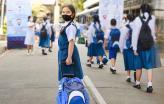Regresso às aulas. Foto da Unesco.