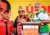 Francisco Guterres Lu-Olo, o novo Presidente da República de Timor-Leste foi apoiado pela Fretilin de Mari Alkatiri e pelo CNRT de Xanana Gusmão – Foto de Antonio Dasiparu/Epa/Lusa