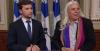 Gabriel Nadeau-Dubois e Manon Massé, do Québeq Solidaire. Fonte: Québeq Solidaire.
