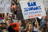 Protesto contra a ordem executiva de Trump, foto de David Maung, por EPA/Lusa