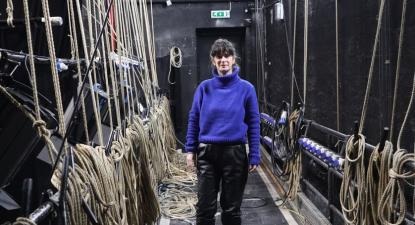 Patrícia Portela, diretora artística do Teatro Viriato, em Viseu
